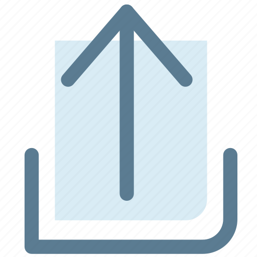 arrow, move, next, up, upload icon