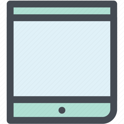 design, device, ipad, mobile tablet, tablet, web icon