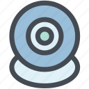 camera, cctv, infrared, security, security camera, web, webcam icon