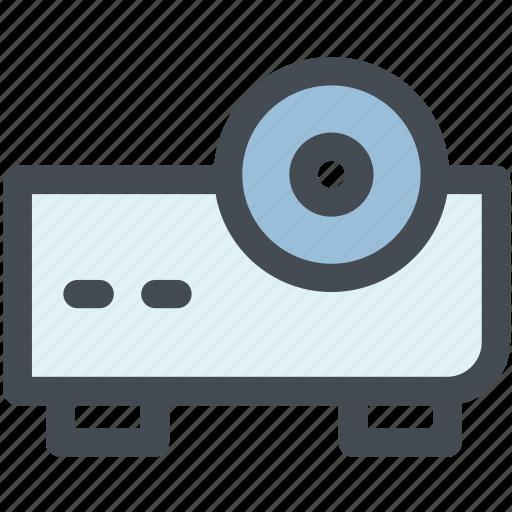 design, electronics, movie projector, multimedia, projector, video projector, web icon