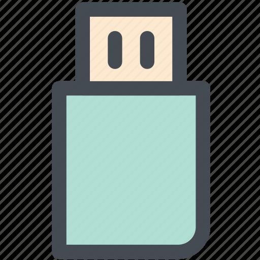 Pen drive, usb stick, usb, usb drive, flash drive, usb flash drive, memory icon