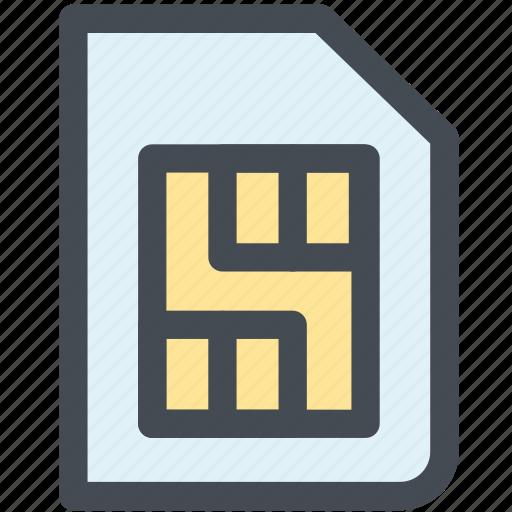 chip, design, integrated chip, phone sim, sim, sim card, web icon