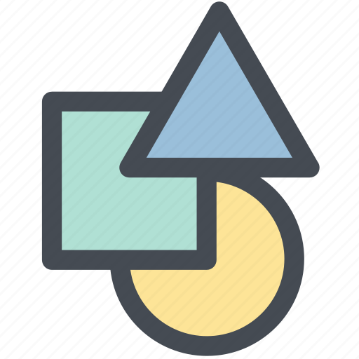 Web, triangle, abstract, creative, shapes, shape, design icon
