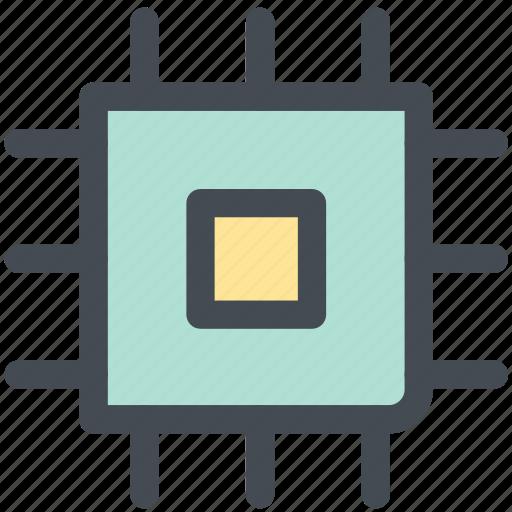computer chip, device, memory chip, microchip, microprocessor, processor chip, web icon