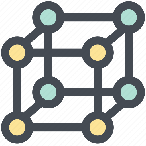 cube, design, geometry, mathematics, shape, web icon