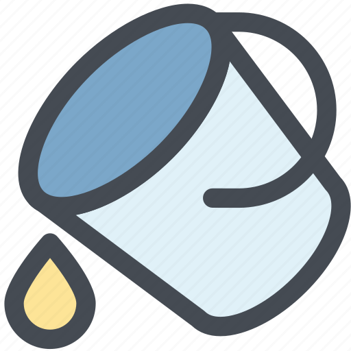 bucket, color, design, fill, paint, paint bucket, web icon