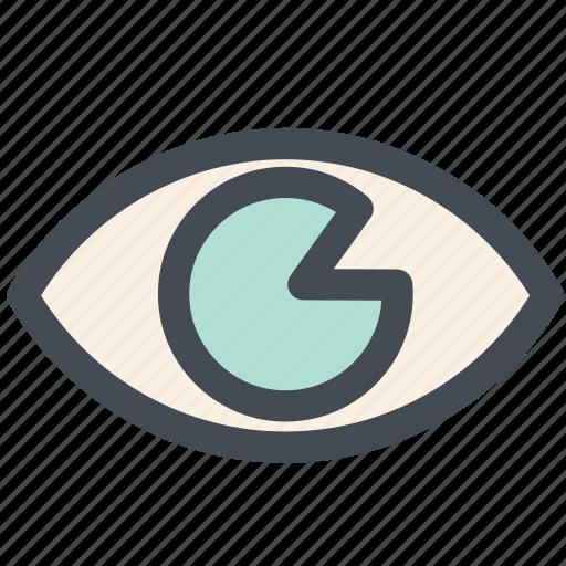eye, seen, view, viewed, views icon