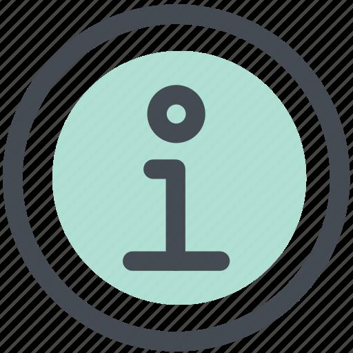 circle, faq, help, info, information icon