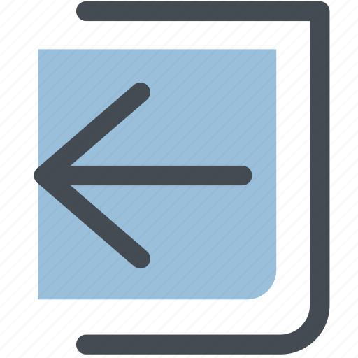 arrowleft, log out, move, out, outside icon