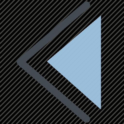 arrow, back, back arrow, left, left arrow icon
