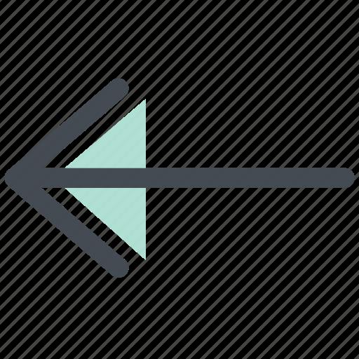 Left arrow, back arrow, back, arrow, left icon
