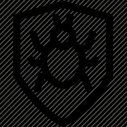 antivirus, bug, protect, security, security bug, virus icon
