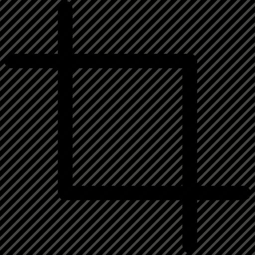 crop, image, reduce size, resize, selection icon