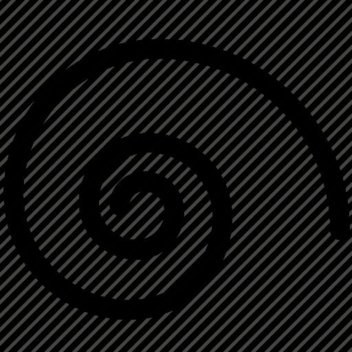 design, round, shape, spiral, spiral tool, tool icon