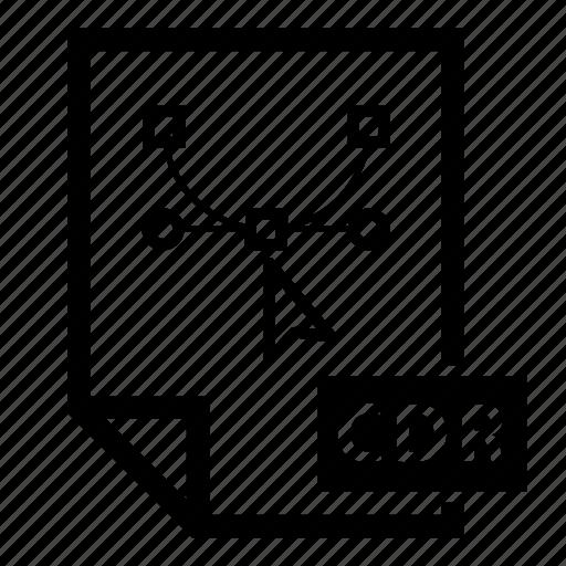 bezier, curve, design, digital, document, draw, illustrator icon