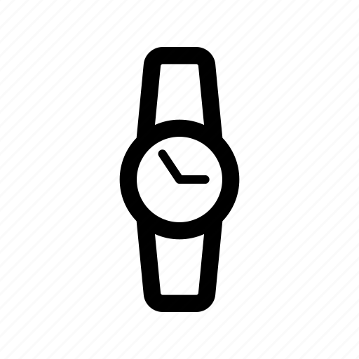 circle, day, hours, smart, time, watch icon