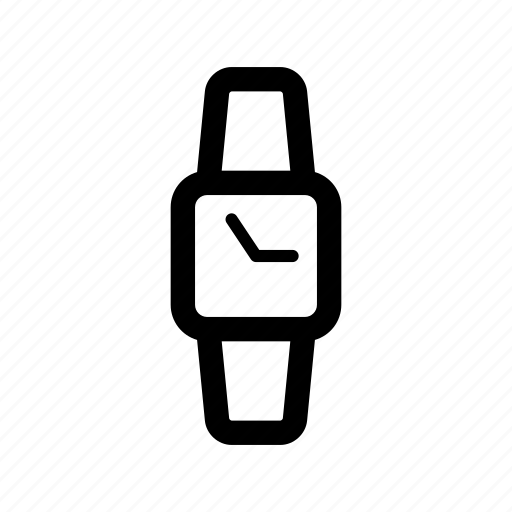 arm, device, hour, iwatch, smart, time, watch icon