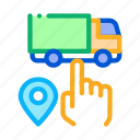 business, commerce, digital, economy, geolocation, selection, truck