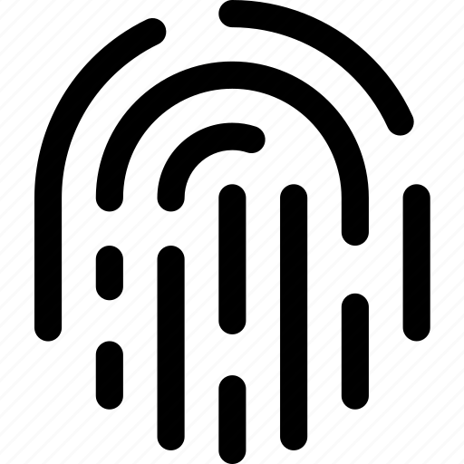 access, authentification, fingerprint, identity, pass, scan, thumb icon