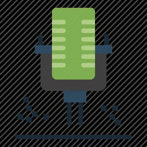 mic, microphone, professional, recording icon