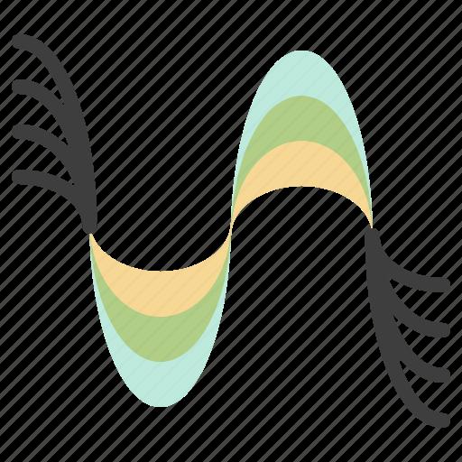 frequency, hertz, pitch, pressure, sound icon
