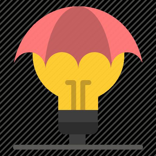 copyright, defence, idea, ideas, patent, proteced icon