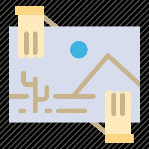 contibution, distribution, dividend, image, photo icon