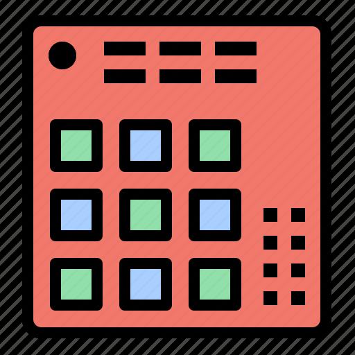 audio, controller, dj, live, mixer icon
