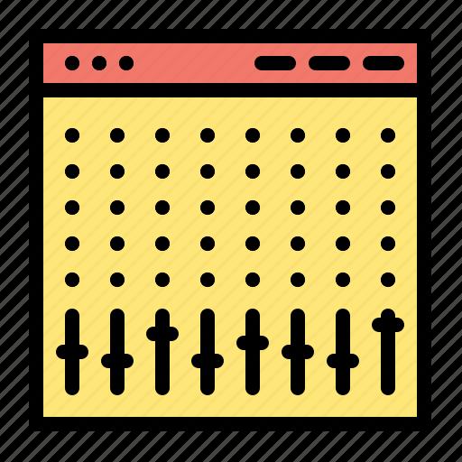 console, control, controller, hardware, mixer icon