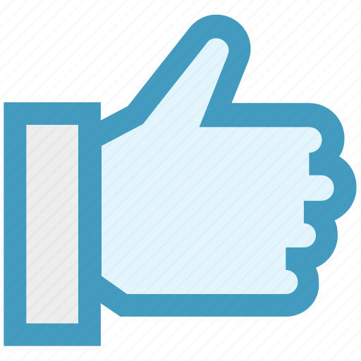 Digital marketing, hand, like, thumb, thumbs up, vote icon - Download on Iconfinder