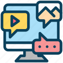 digital, marketing, gallery, internet, social media, chat
