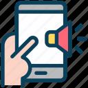 digital, marketing, mobile, advertising, speaker, announce