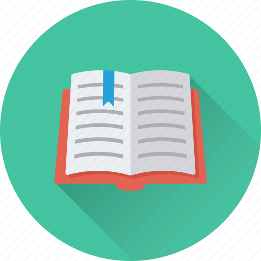 book, bookmark, diary, knowledge, notebook icon