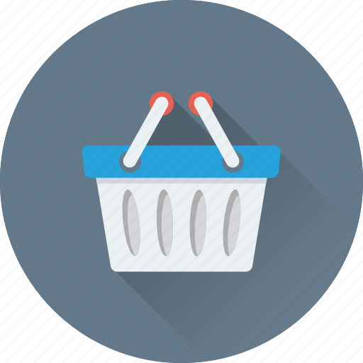 basket, buy, hamper, shopping, shopping basket icon