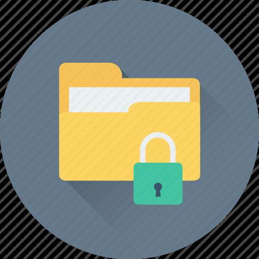 folder, lock, locked folder, padlock, privacy icon
