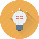 bulb, idea, light, light bulb, luminaire