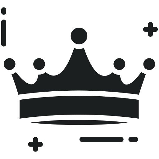 crown, gold crown, headgear, nobility, royal crown icon
