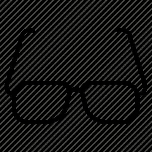 digital, eyewear, glasses, goggles, marketing icon