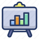 business chart, business planning, business presentation, graphical presentation, statistics icon