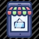 buy online, e commerce, online shop, online shopping, online store icon