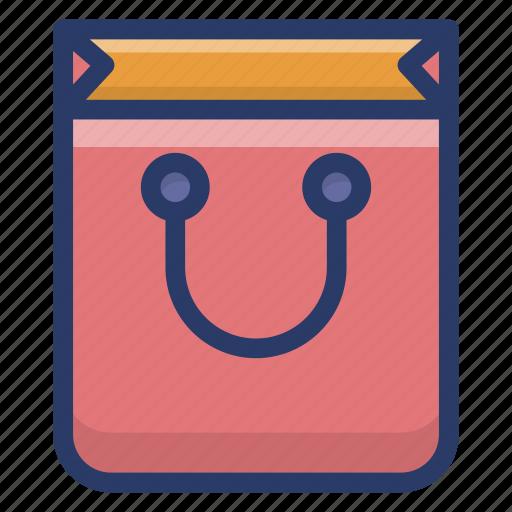 buying, commerce, purchase bag, shopper, shopping bag icon