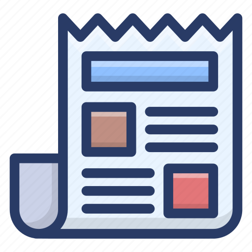 business document, contract, note, sheet, text sheet icon