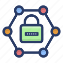 data encryption, network protection, network safety, protected network, secured network icon