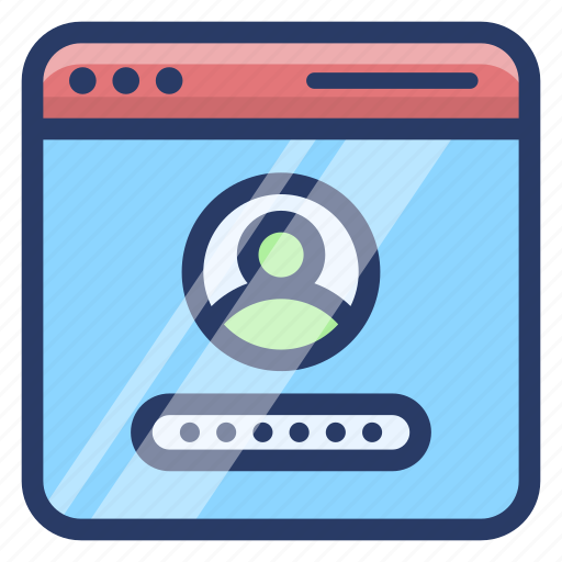 protected profile, user login, web passcode, web password, web profile icon