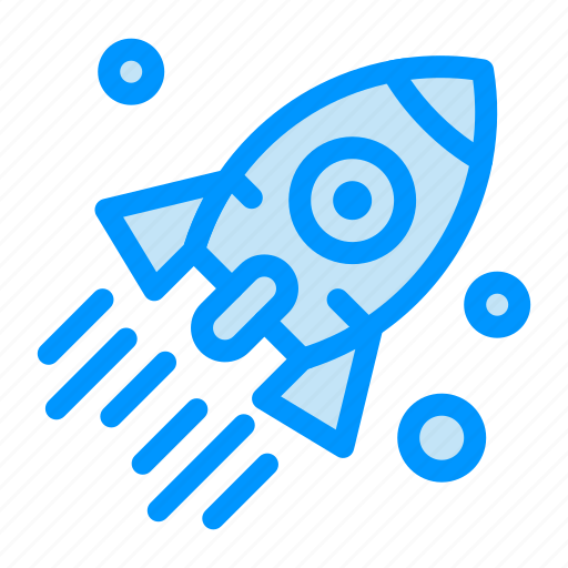 business, launch, project, rocket, startup icon