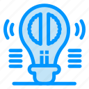 brain, bulb, creative, mind, thinking icon