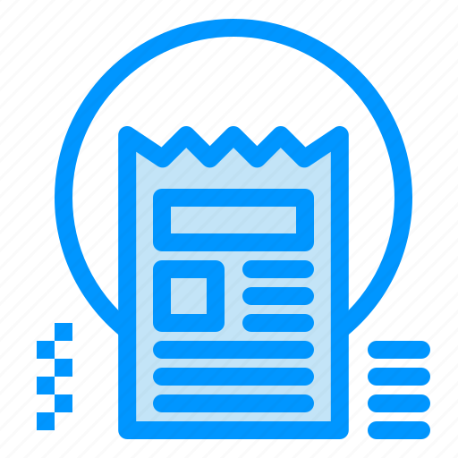 article, blog, document, news, web icon