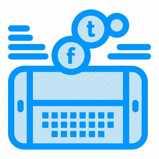 facebook, game, mobile, social, twitter icon