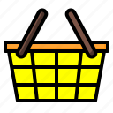 basket, digital, keep, maketing, shopping icon