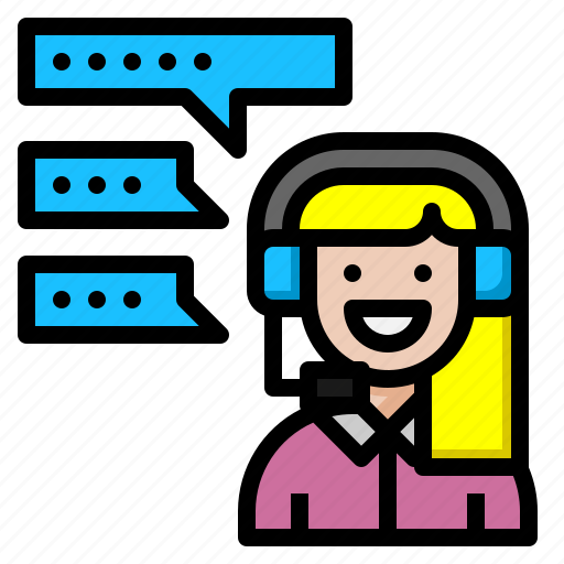 call, center, chat, customer, digital, maketing, service icon